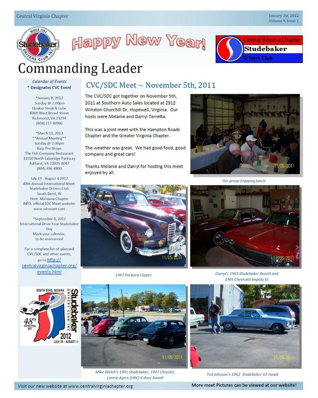 Click to view the January 2012 Issue